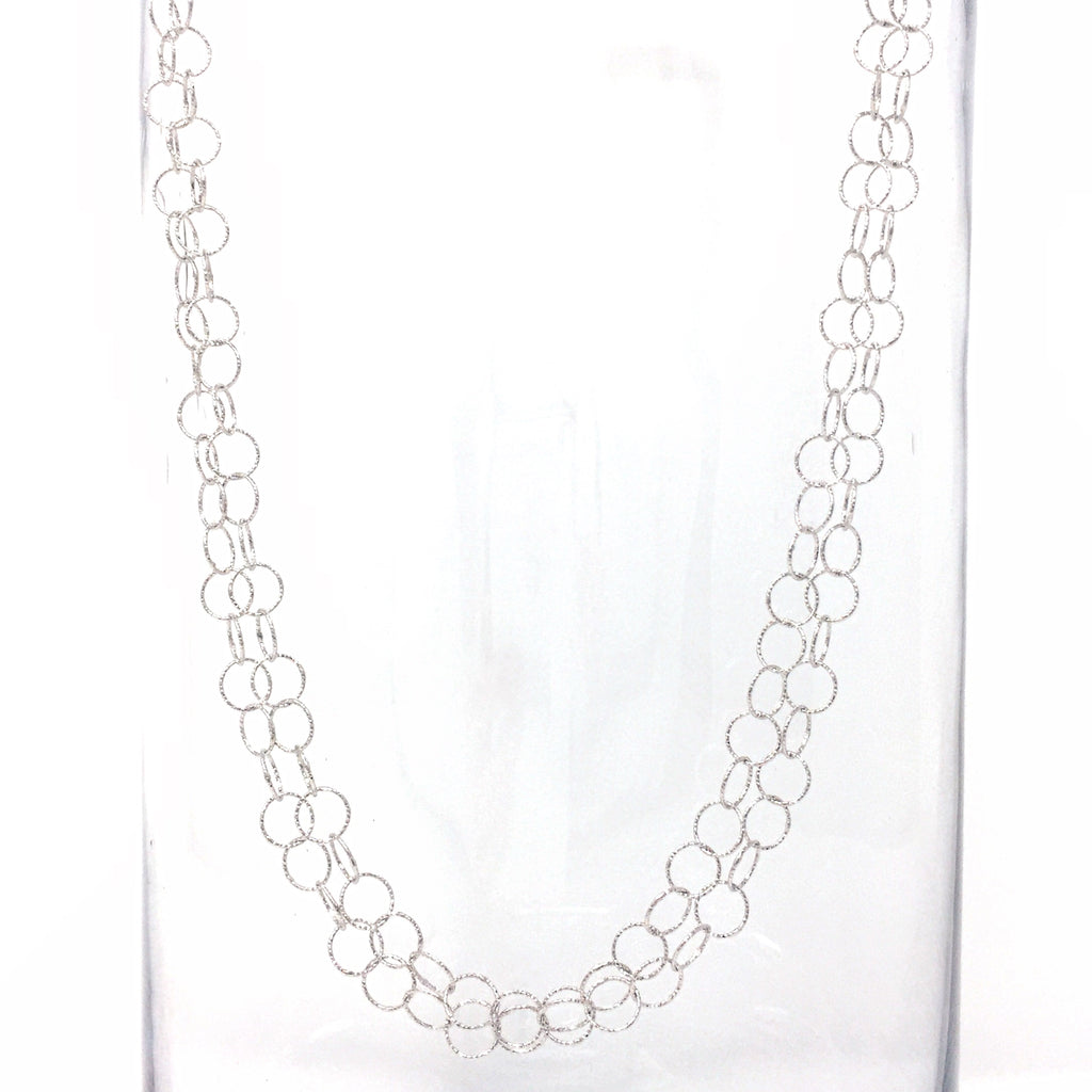 Giotto Necklace (B Matinee - Rhodium)
