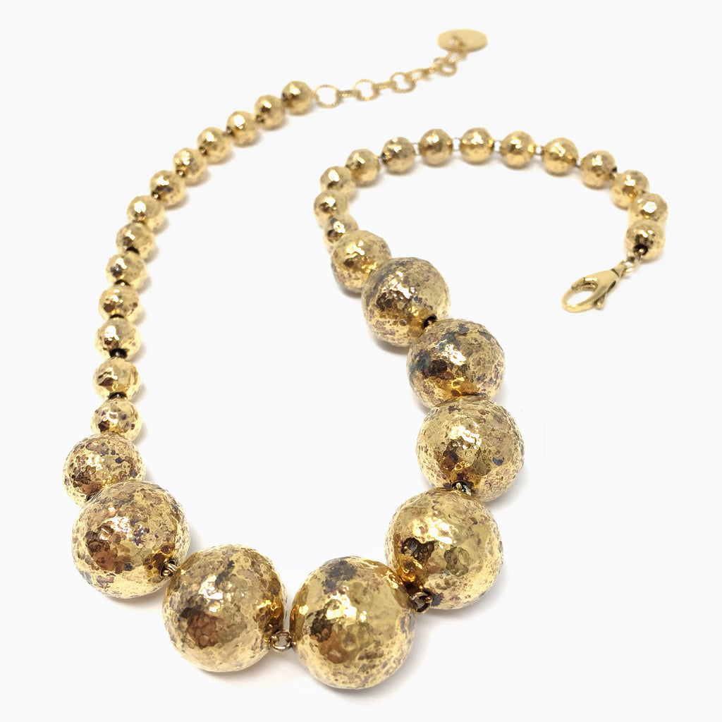 Sofia Necklace (Antique Gold)