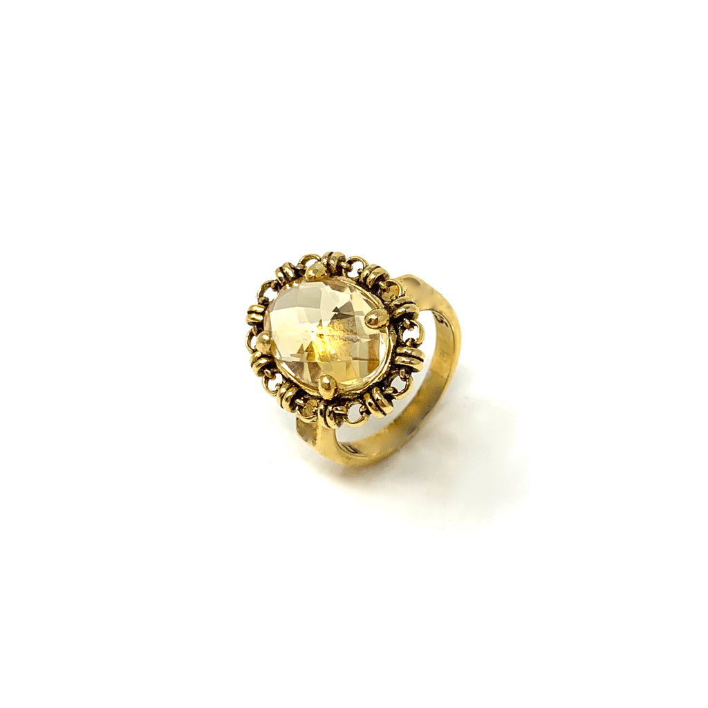 Aperitivo Ring in Gold with Citrine