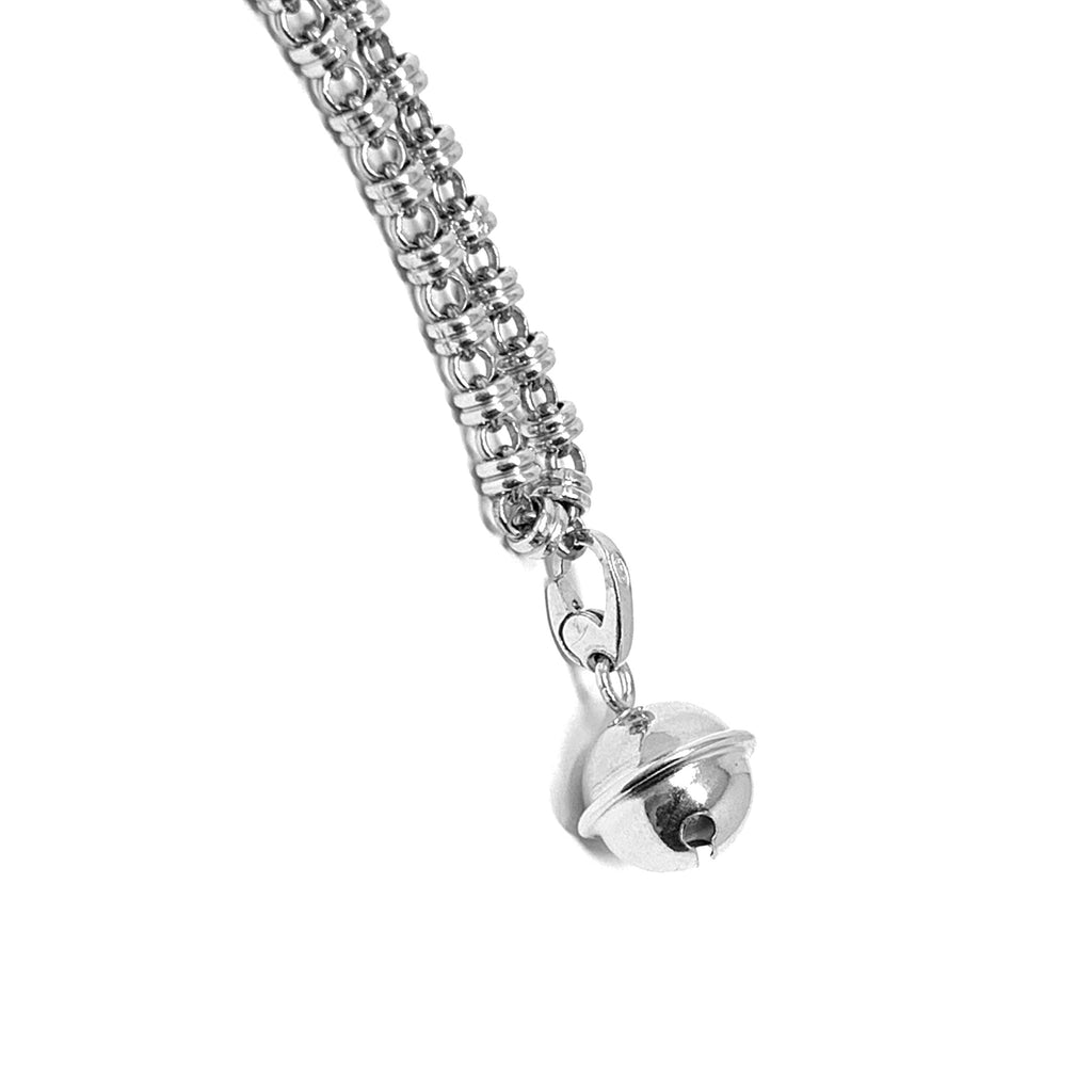 Charm Chiama Angeli Large Rhodium
