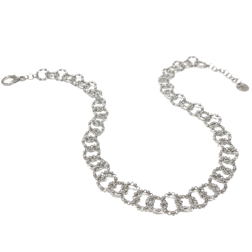 Necklace Signorelli B Rhodium