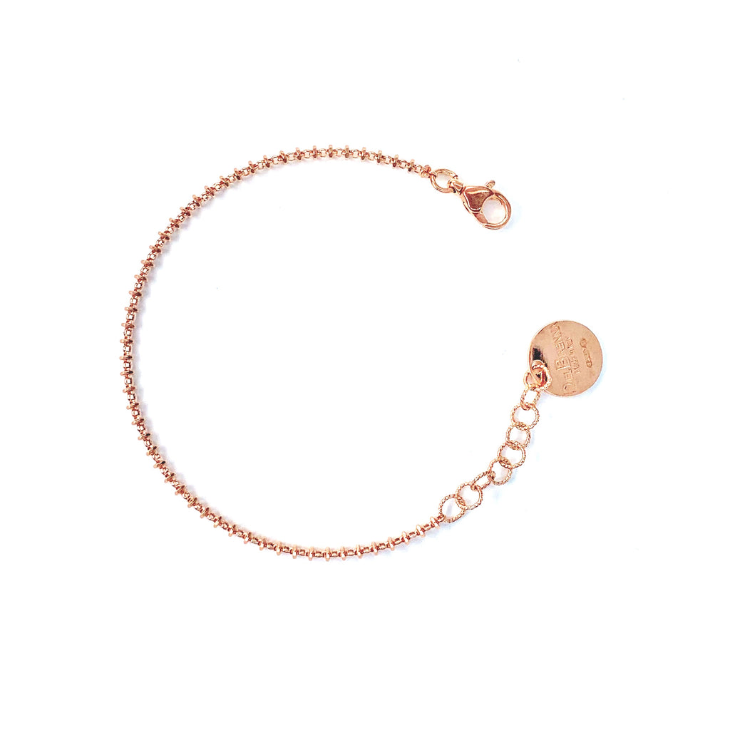 Bracelet Luce 2mm Rose Gold