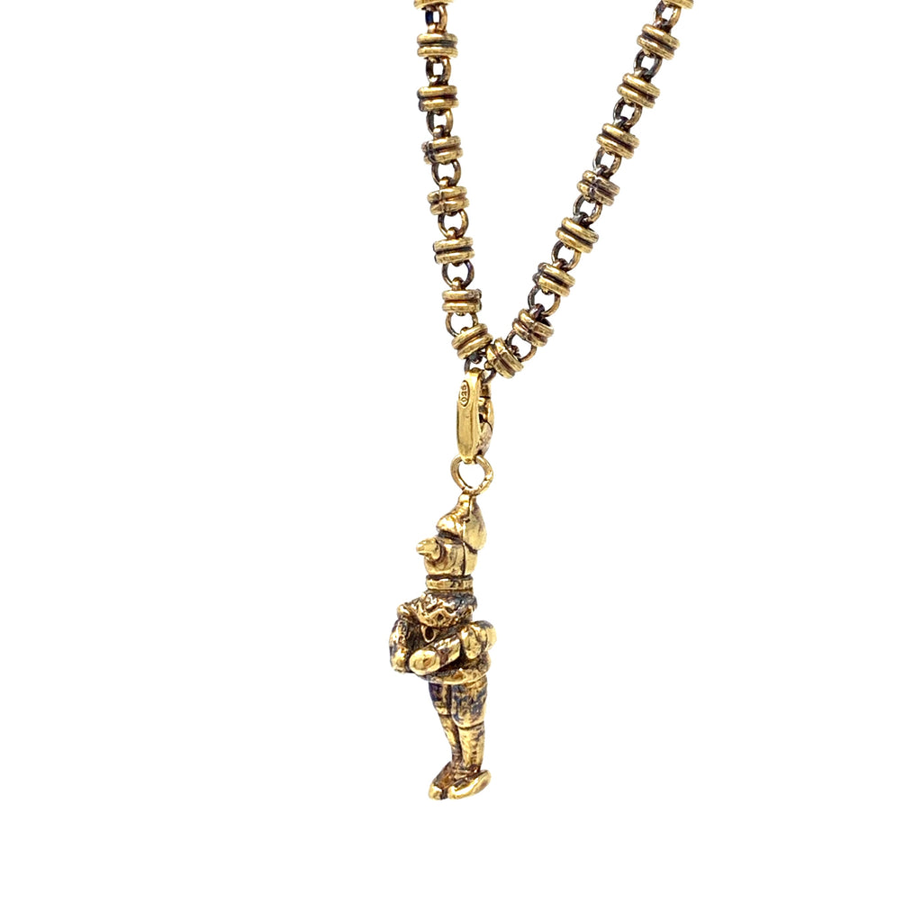 Charm Pinocchio Antique Gold