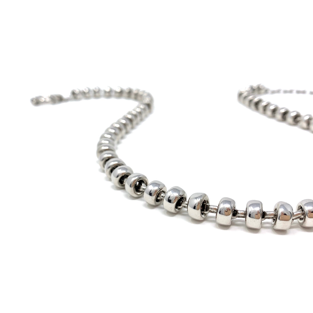 Grand Ciambelle Necklace (B Matinee - Rhodium)