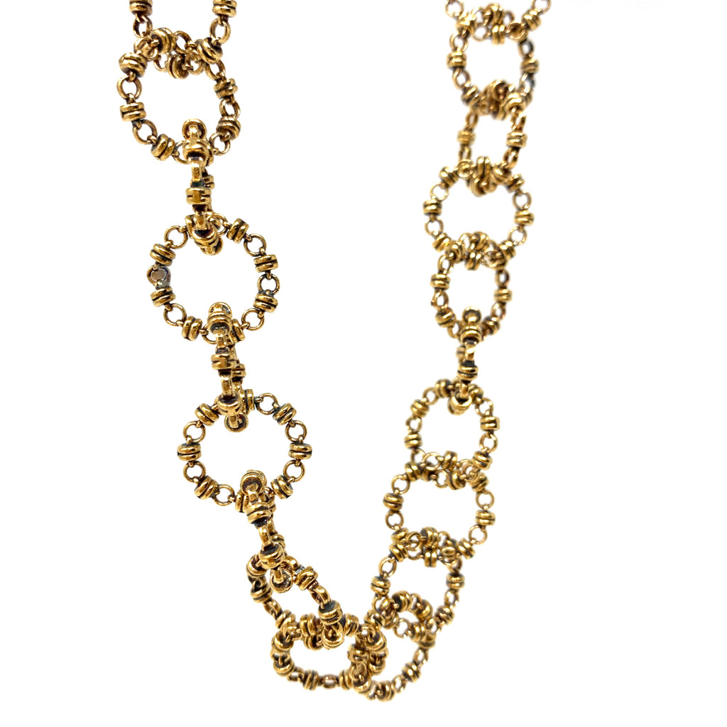 Necklace Signorelli B Antique Gold