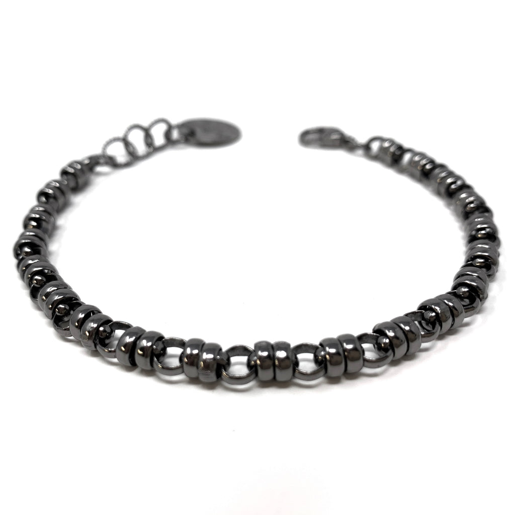 Bracelet Links 5mm Ruthenium
