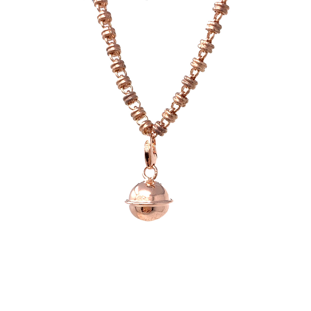 Charm Chiama Angeli Large Rose Gold