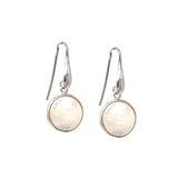 Earrings Dolce Vita Baroque Pearls Round Rhodium