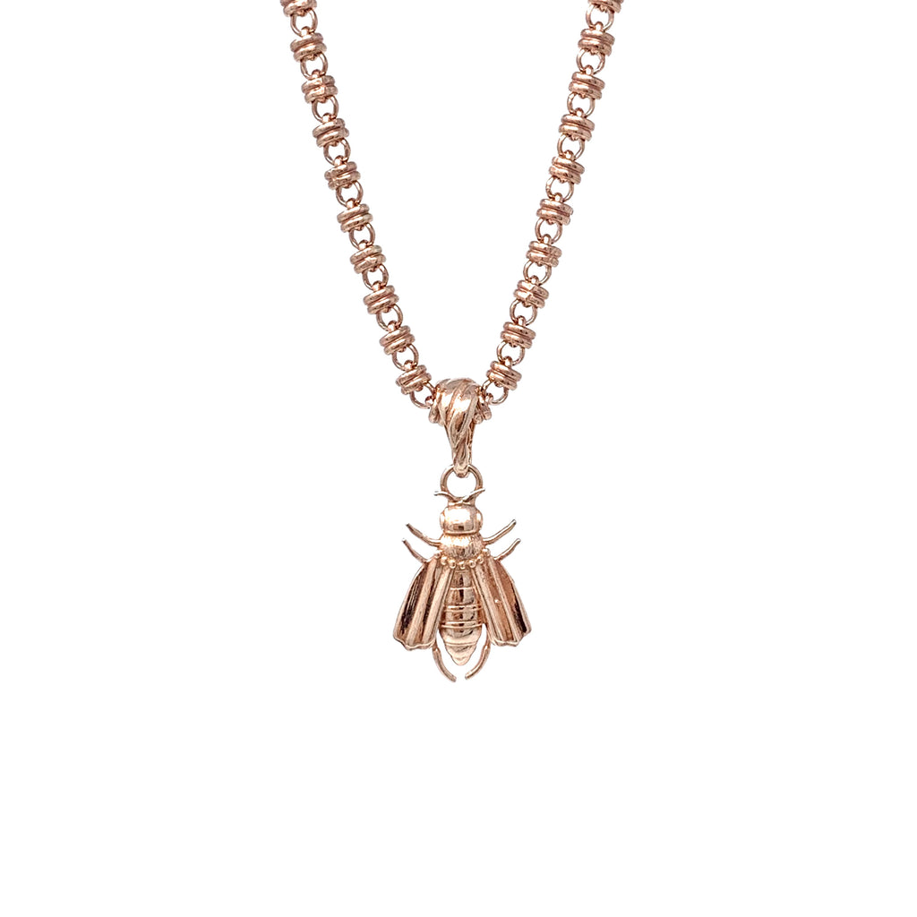 Pendant Bee Rose Gold