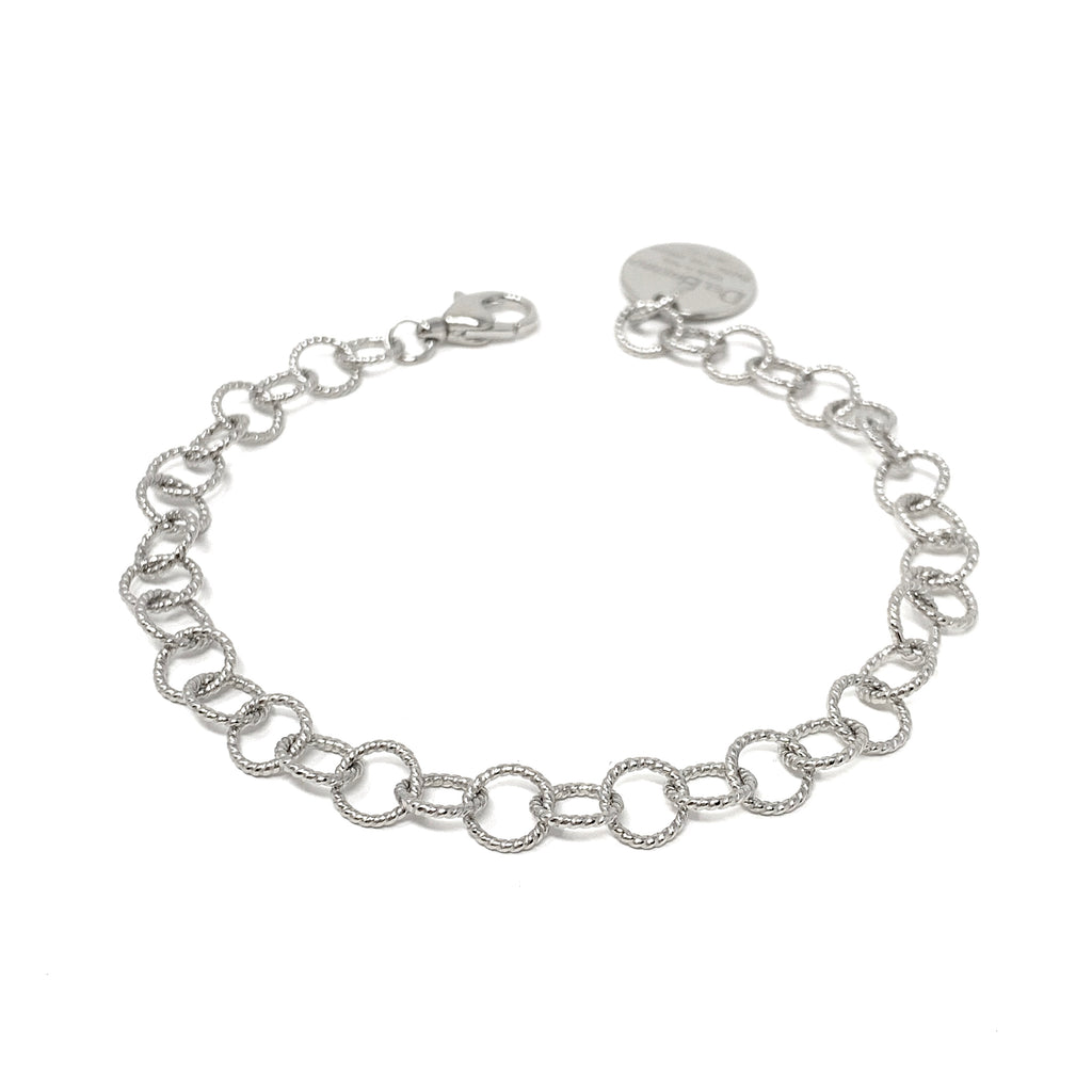 Wispy 7mm Bracelet in Silver