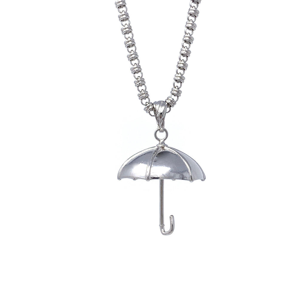 Pendant Umbrella Rhodium