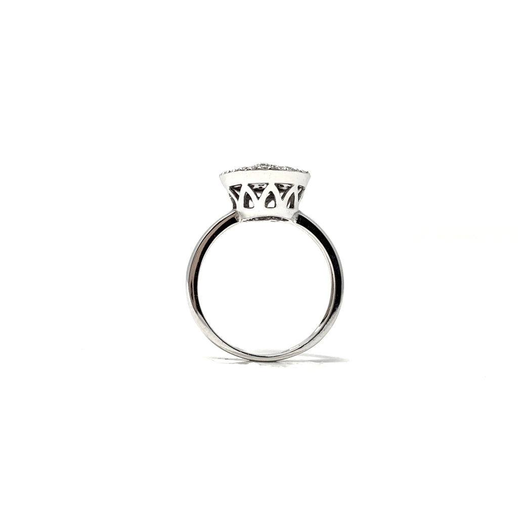 Ring Wish Collection 18K Diamond Pavé 0,55ct White Gold