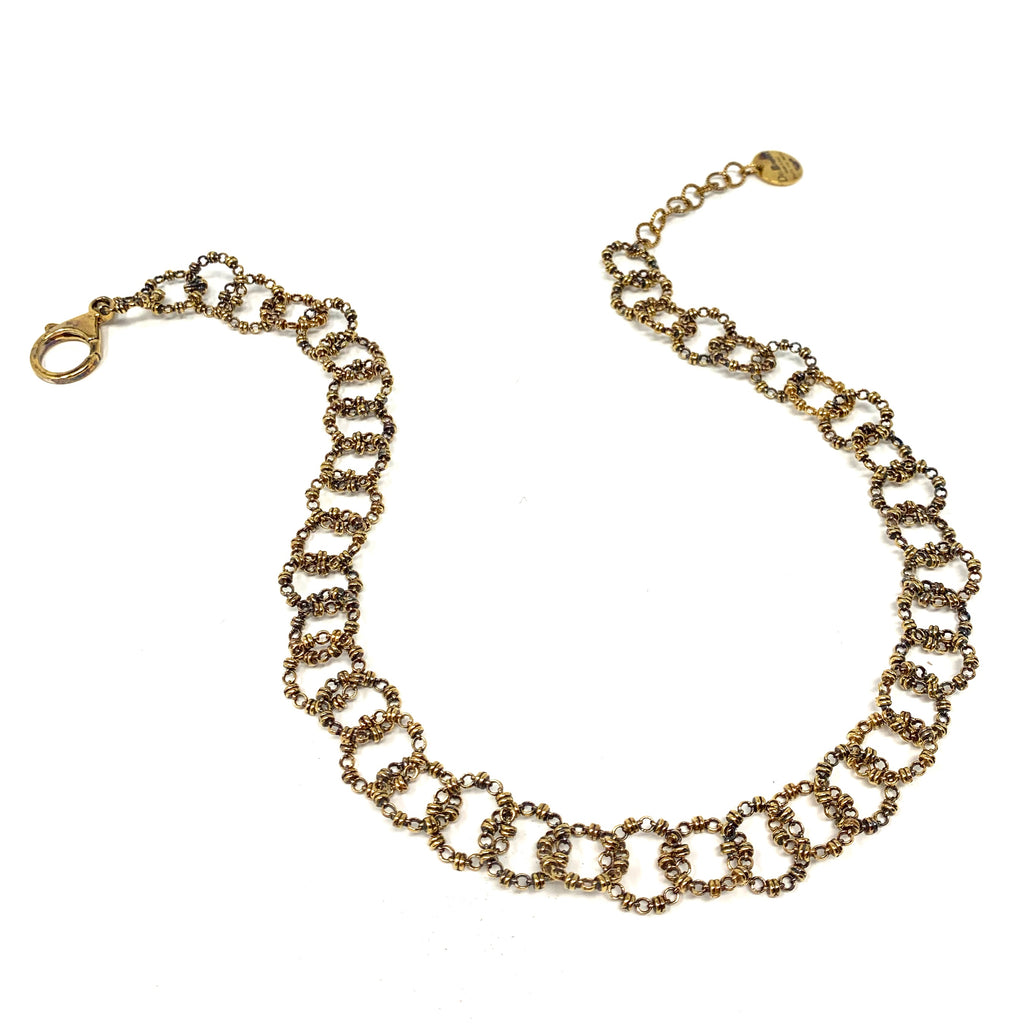 Signorelli Necklace in Gold, 18""
