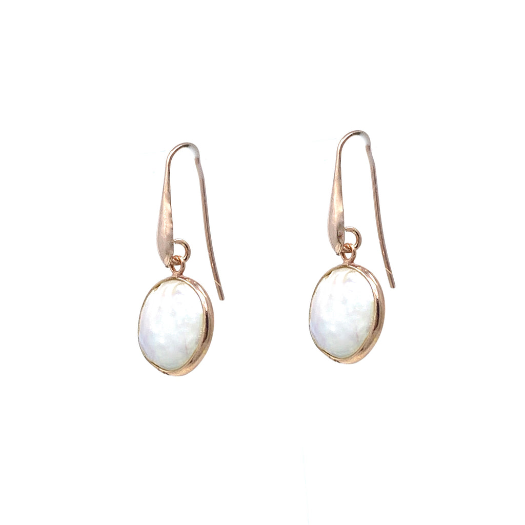 Earrings Dolce Vita Baroque Pearls Round Rose Gold