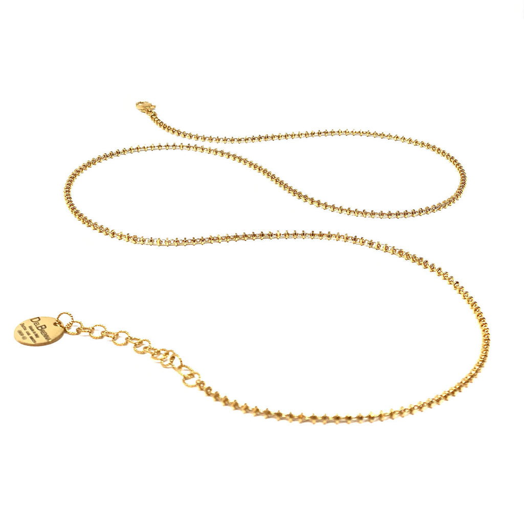 Necklace Luce 2mm C Gold