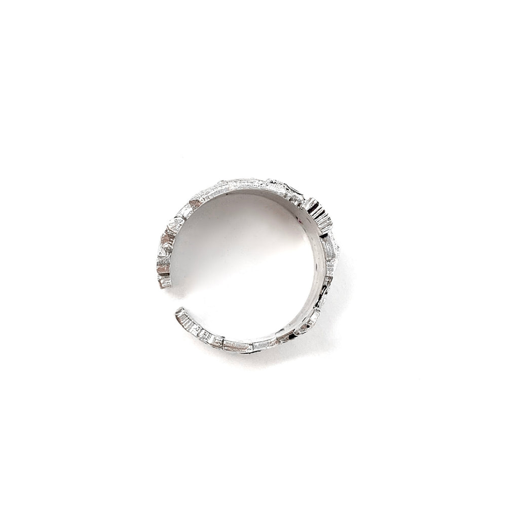 Cortona Skyline Ring (Rhodium)