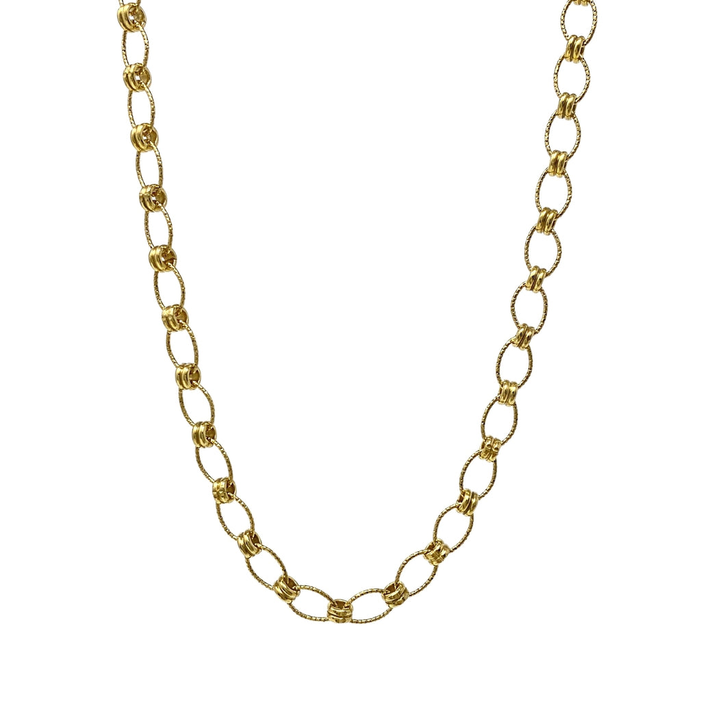 Ponte Vecchio Necklace in Gold, 18""