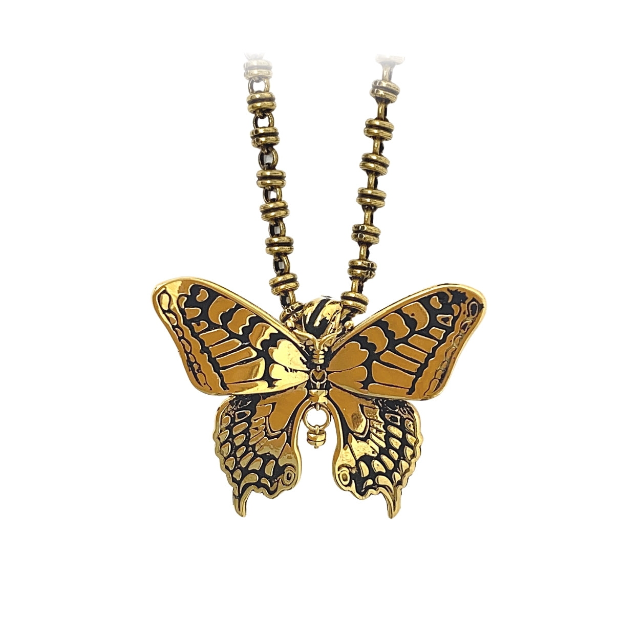 Butterfly Pendant in Gold