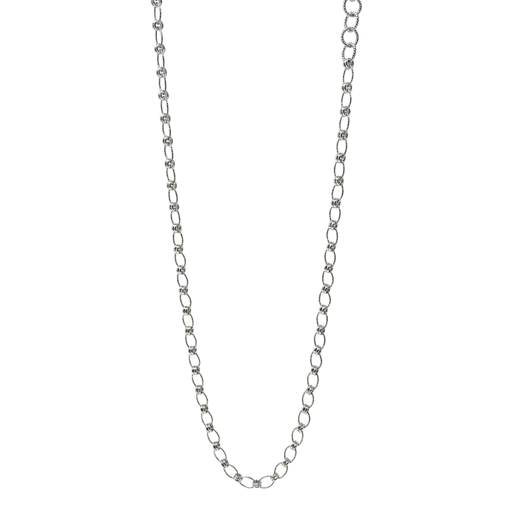 Ponte Vecchio Necklace in Silver, 18""