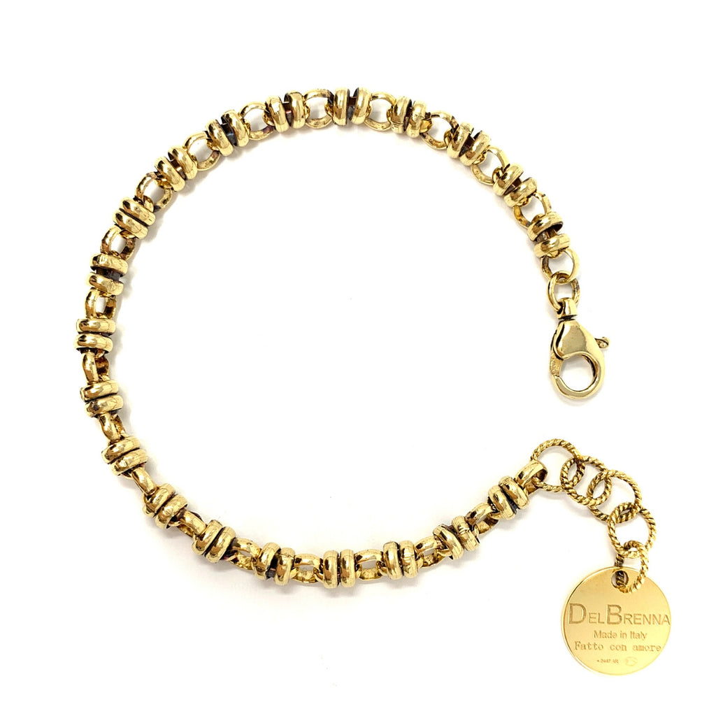Links 5mm Bracelet in Gold