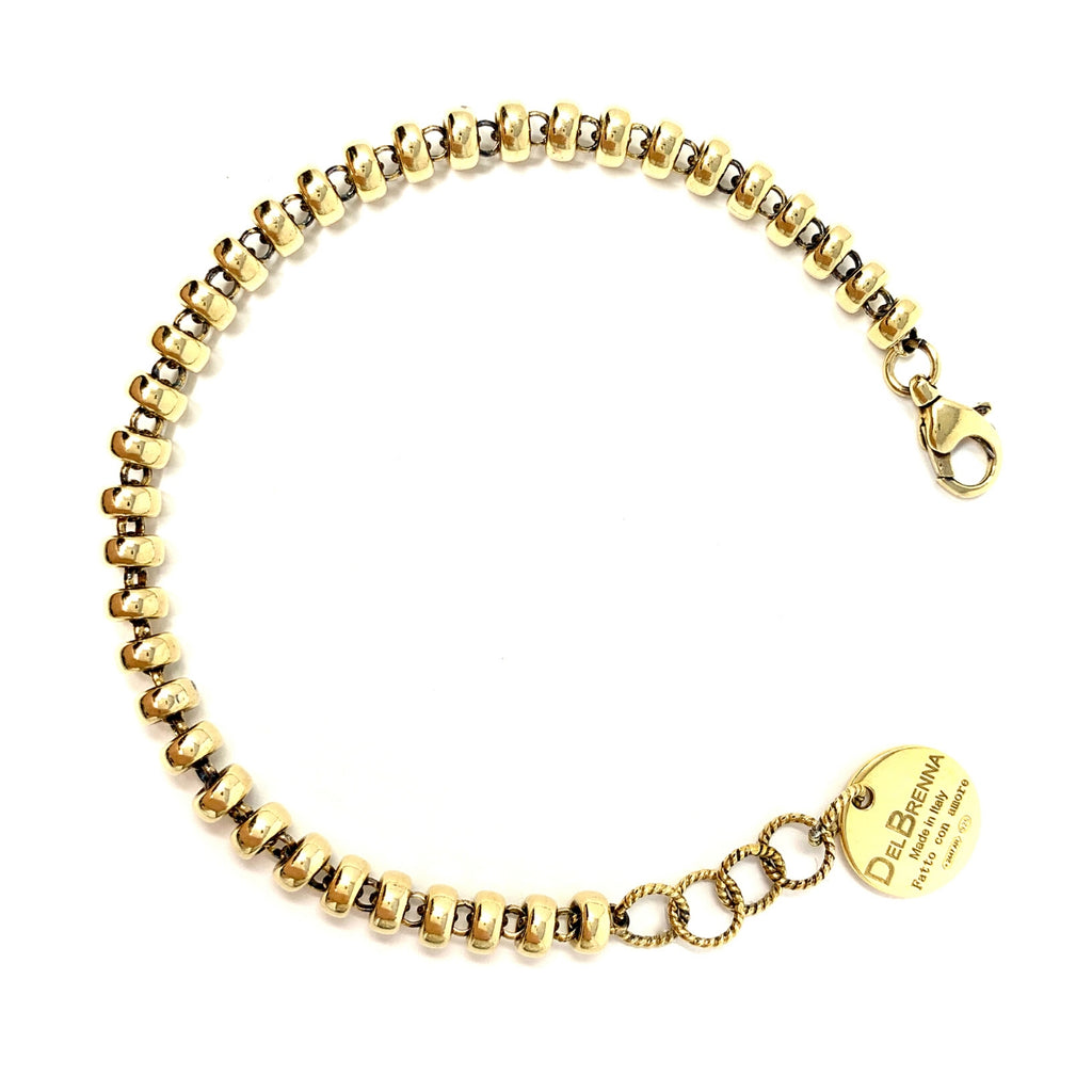 Ciambelle 5mm Bracelet (Antique Gold)