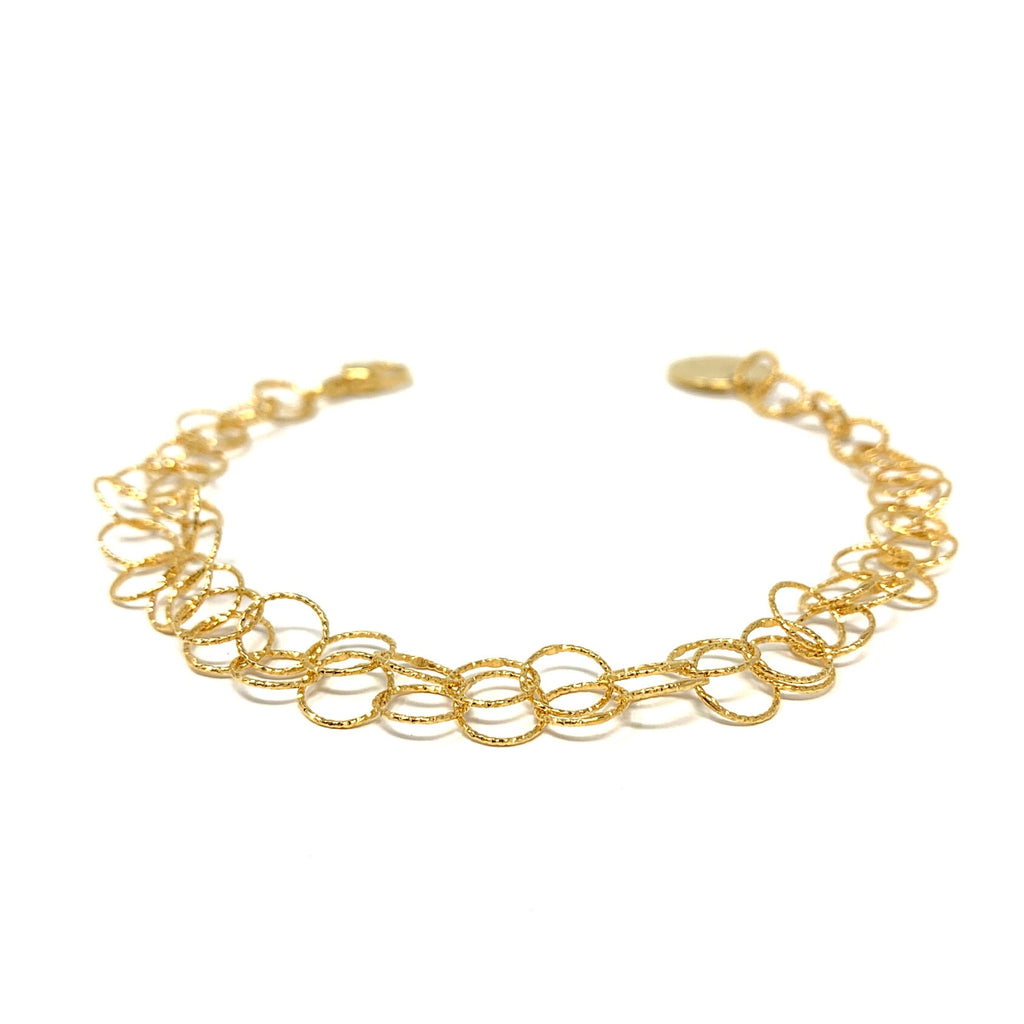 Bracelet Giotto Double Gold