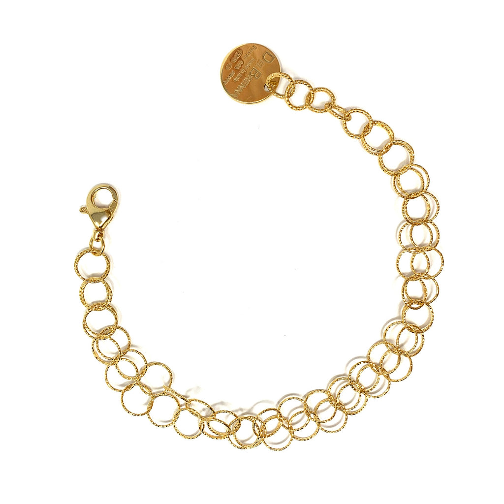 Double Giotto Bracelet (Yellow Gold)