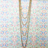Ciambelle 3mm Chain (B Matinee Length - Antique Gold)