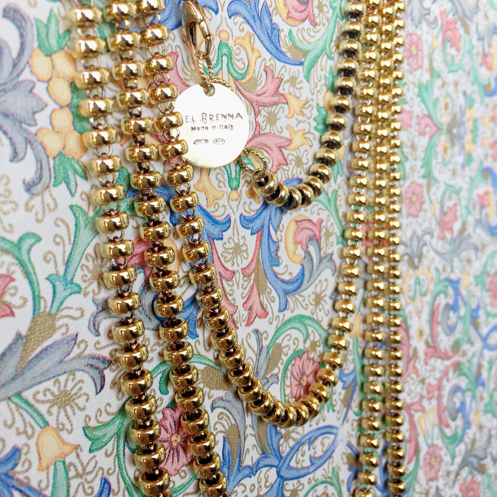 Ciambelle 5mm Chain (A Princess Length - Antique Gold)