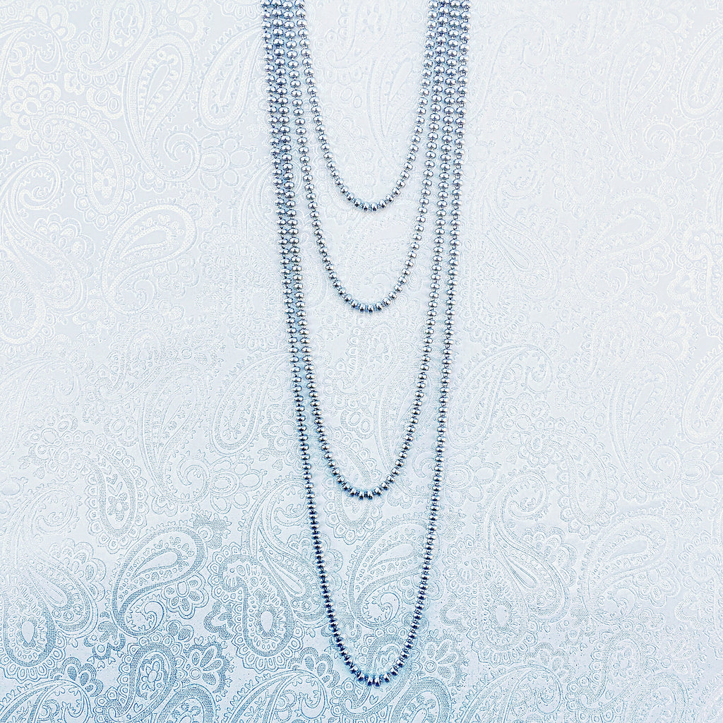 Ciambelle 3mm Necklace in Silver, 18""