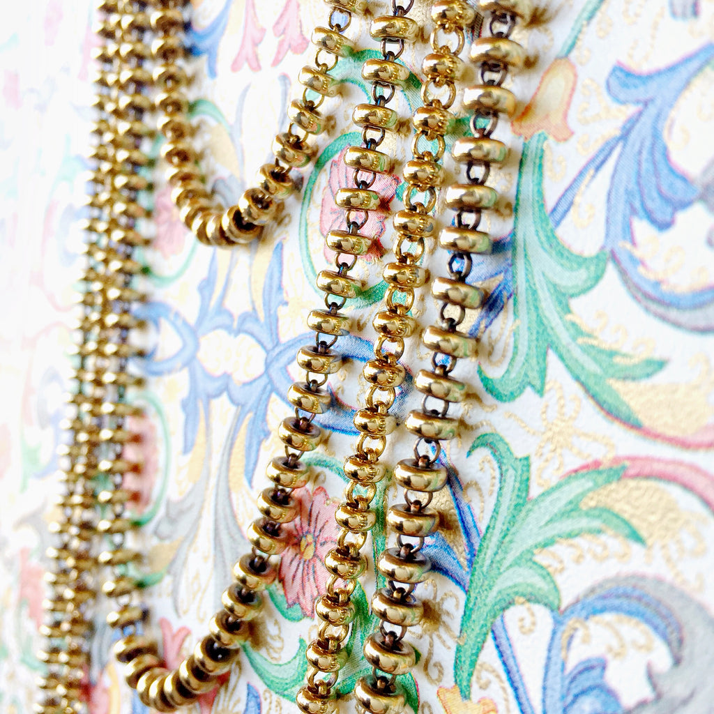 Ciambelle 3mm Chain (D Rope Length - Antique Gold)