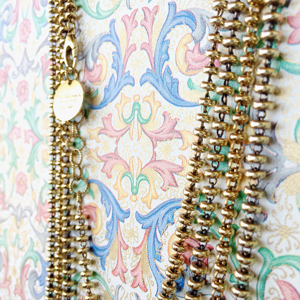 Ciambelle 3mm Chain (A Princess Length - Antique Gold)