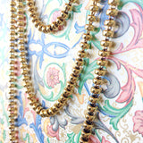 Ciambelle 5mm Necklace in Gold, 22""