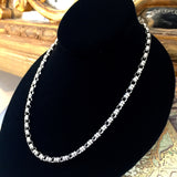 Original Links 5mm Chain (B Matinee Length - Rhodium)