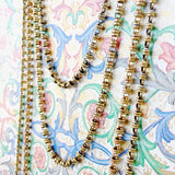 Links 3mm Chain (C Opera Length - Antique Gold)