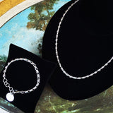 Original Links 5mm Chain (A Princess Length - Rhodium)