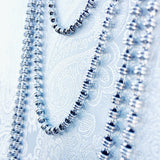 Links 3mm Chain (A Princess Length - Rhodium)