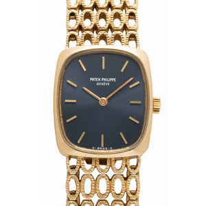 PATEK PHILIPPE ELLIPSE 18K GOLD MODEL 4186/1