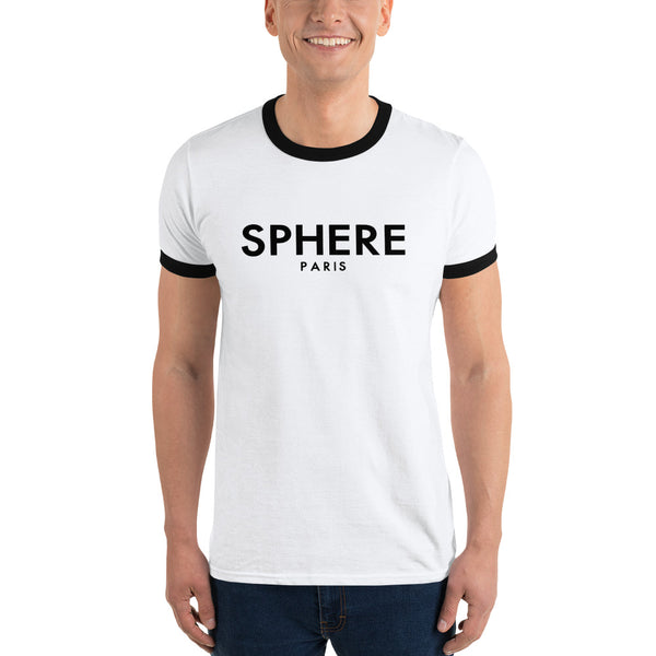 Sphere Paris - Premium Men's Ringer T-Shirt