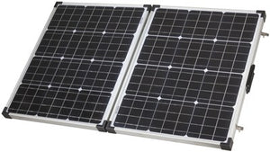 110W Folding Solar Panel and Charge Controller