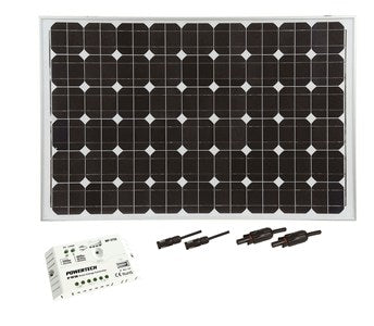 170W Recreational Solar Package
