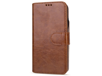 2-in-1 Synthetic Leather Wallet Case