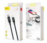 Baseus Cable Yiven Series Type-C to Lightning 2A 2m Black