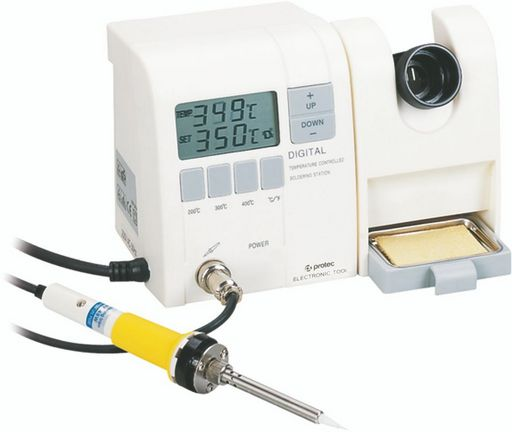ELECTRONIC TEMPERATURE CONTROLLED SOLDERING STATION ESD