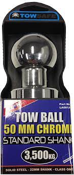 Tow Ball 50mm Chrome