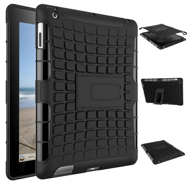 Rugged Dazzle Case for iPad 2/3/4