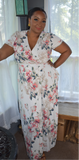 Roses Wrap Dress Sale