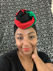 Island Rhythms-Headwrap and Mask Set