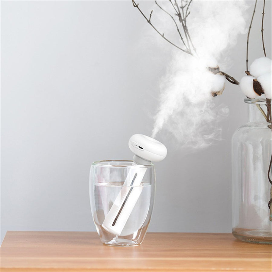 H₂O PureMist™ Tankless Ultrasonic Cool Mist Humidifier - H2O