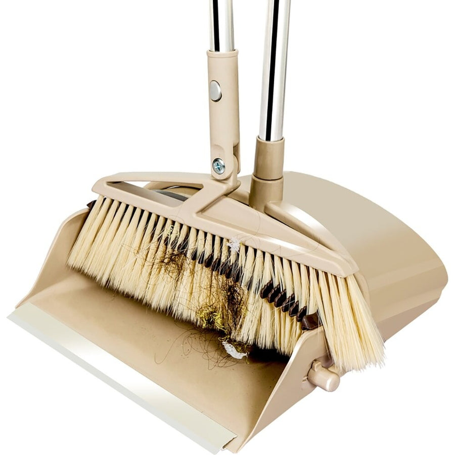 H₂O SimplyClean™ Collapsible Broom and Dustpan V2 - H2O